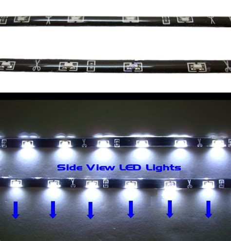 ledstrip auto side shine led strips