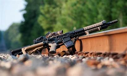 Ar Rifle Assault Rails Weapon Wallpapers Ar15