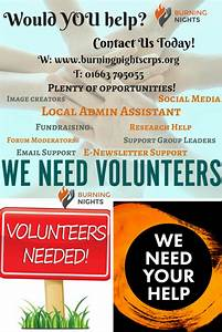 Volunteers Needed For Burning Nights CRPS Support Charity