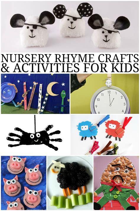 nursery rhyme crafts and activities for preschool 284 | de52714e064eb286b969f65960e3e317