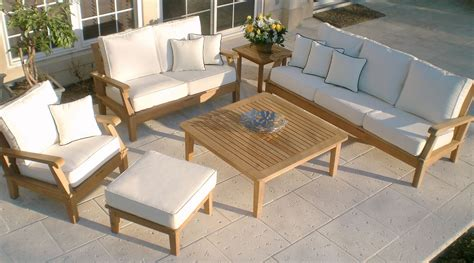 Outdoor Patio Furniture by Teak Furniture Tropicraft Patio Furniture