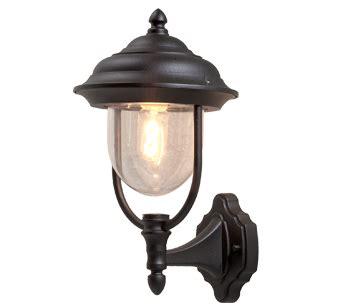 konstsmide parma ip43 1 light upward outdoor wall light