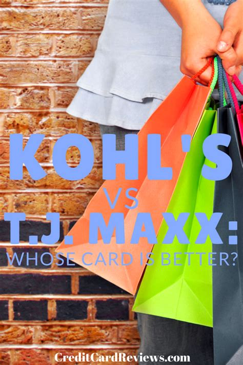 Some offer promotional or variable rates while others offer a fixed rate. Kohl's v. T.J. Maxx: Whose Card Is Better? - CreditCardReviews.com