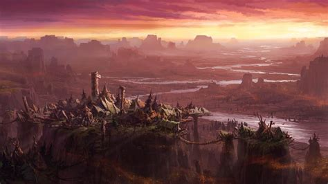 fantasy landscape art artwork nature scenery