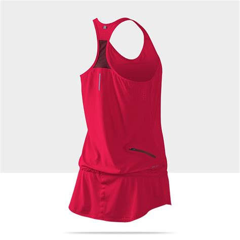 nike womens running dress siren red workout clothing