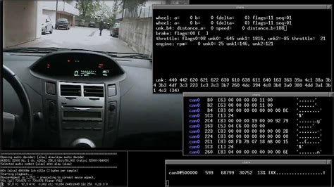 Can You Add A Usb To A Car Stereo - decoding can frames on a toyota with