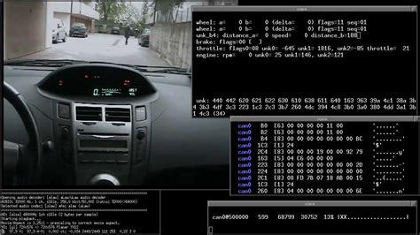 decoding  bus frames   toyota internal bus
