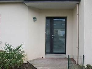 porte dentree vitree aluminium prix urbantrottcom With prix porte d entrée vitrée