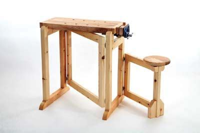 folding workbench   handy   small craft room
