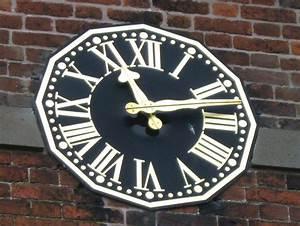 File:Church Clock, Eyton upon the Weald Moors - geograph ...