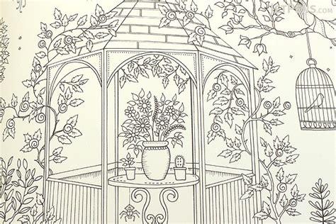 secret garden  inky treasure hunt  coloring book