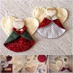 creative ideas diy fabric ornaments