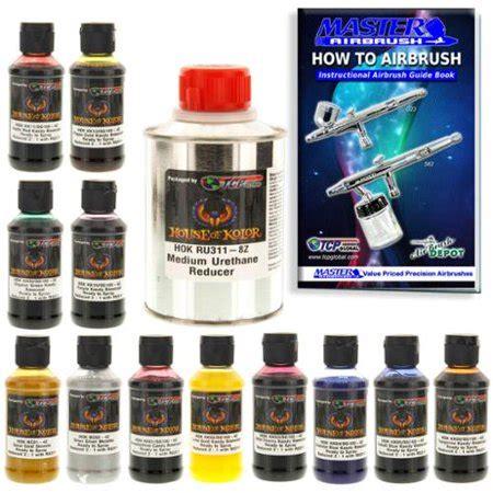 house of kolor 4oz 12 color kit ready to spray kandy