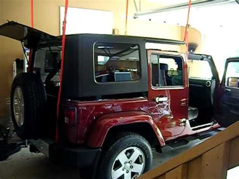 jeep hardtop removal jeep hard top removal youtube