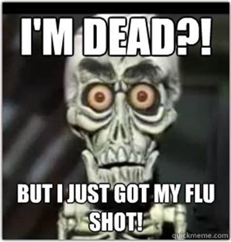 Flu Shot Meme - tweets with replies by adam oliver adamjoliver twitter