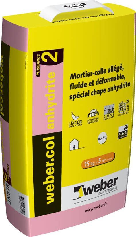 colle carrelage epoxy weber mortier colle pour carrelage c2 anhydrite weber col anhydrite 2 weber