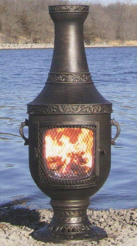 Chiminea Wood - gas or wood burning chiminea outdoor fireplace venetian