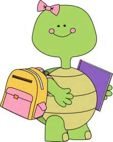 School Clip Art Turtle
