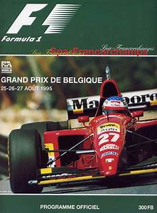 1995 Formula 1 World Championship Programmes