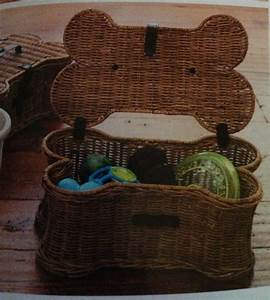love this dog toy basket from pottery barn 12 days of With dog toy basket