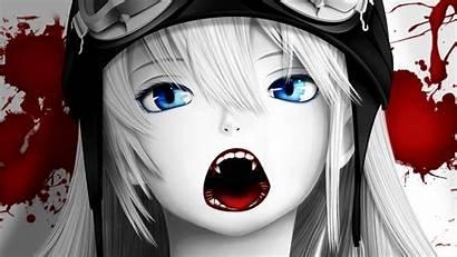 Eyes Hair Blood Vampire Vampires Anime Shinobu