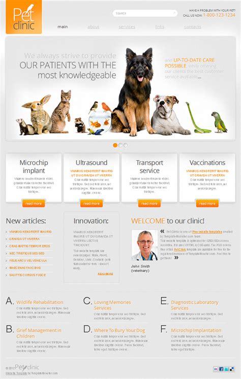2 templates html5 css3 gratuits pour d animaux beauxthemes