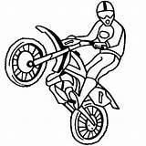 Coloring Dirt Bike Drawing Printable Bicycle Sheets Ramp Template Step Clipartmag sketch template