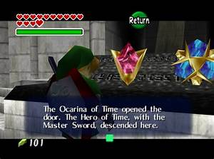 The legend of zelda ocarina of time rom | sound values on