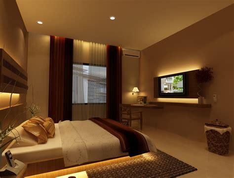 fungsi ruang interior kamar tidur utama pintu gbr gorden desaininrumah desaininrumah