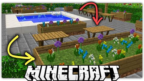 Garden Decoration Minecraft by Minecraft 5 Special Ways To Make A Beautiful Park