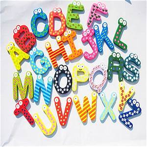 refrigerator magnets for kids creative alphabet fridge With magnetic alphabet letters for toddlers
