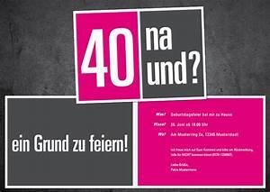Geburtstagsfeier Mal Anders : einladung geburtstag einladungen 40 geburtstag geburstag einladungskarten geburstag ~ Frokenaadalensverden.com Haus und Dekorationen