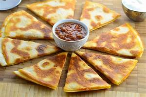 Your Basic Quesadilla Recipe Genius Kitchen