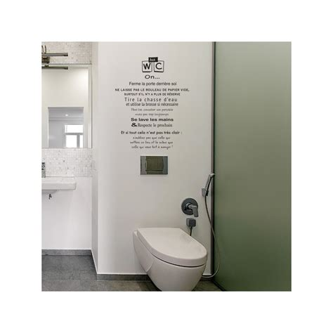 stickers muraux toilettes home design architecture cilif