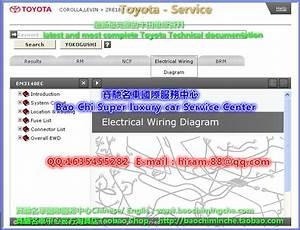 Full Set Toyota Workshop Manual And Electrical Wiring