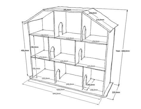 plan de maison de poupee en bois