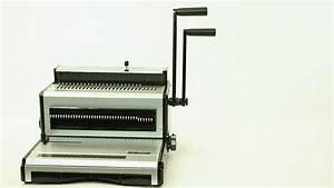 Product Feature Tt2930 Manual Dual Wire Binding Machine Nz