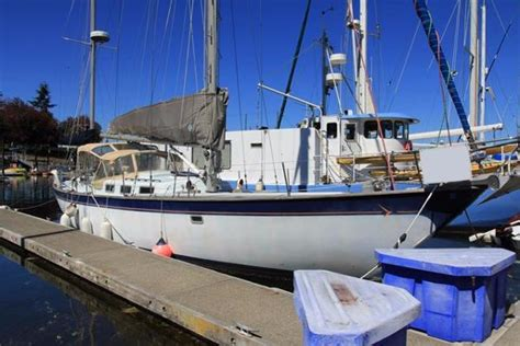 Sequim Boat Rentals by 1971 Hughes 48 Yawl 48 Foot 1971 Sailboat In Sequim Wa