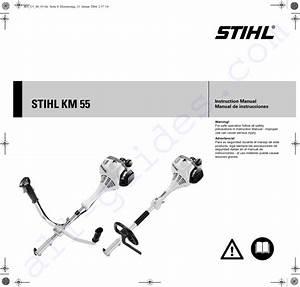 Stihl Km 55 R Trimmer Instruction Manual Pdf View  Download