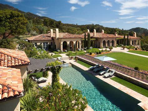 modern mansion floor plans 45 million mediterranean estate in santa barbara ca