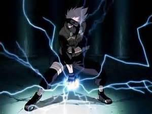 Benandgwen2009 Images Kakashi Using The Lightning Blade