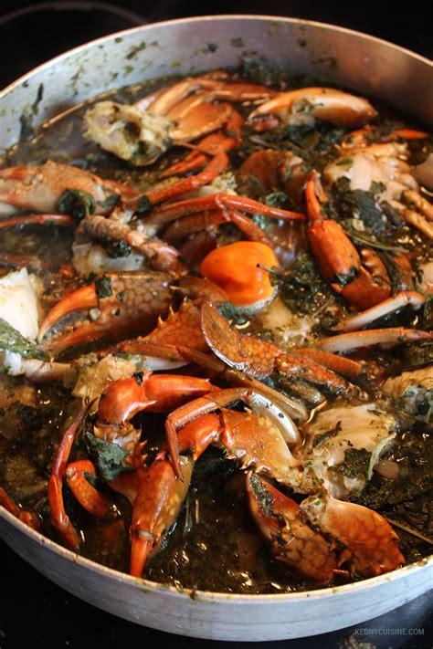 cuisiner crabe lalo de pattes de porc et crabe kedny cuisine