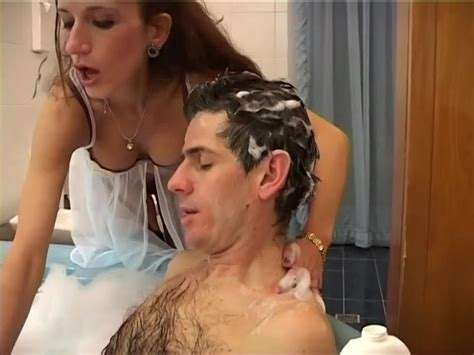 Helping Her Step Son Take a Bath Until She Notices His Massive Dong - Free Porn Videos - YouPorn
