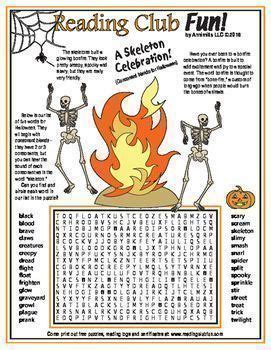 halloween consonant blends word search puzzle  images
