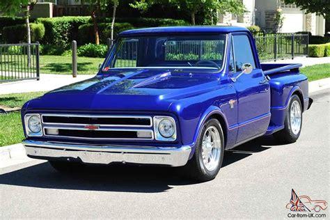 Custom Chevy Stepside Pickup Truck