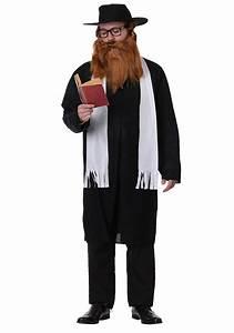 Jewish Rabbi Adult Costume - Religious Priest Costumes