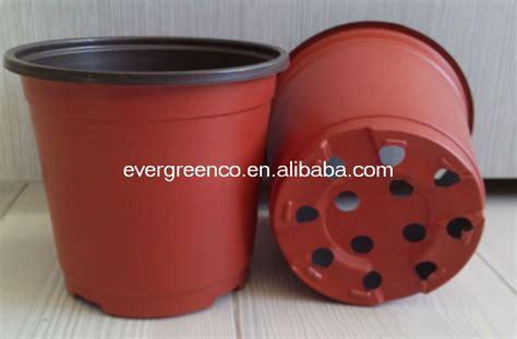 jetable pot de fleurs rond en plastique pas cher jardin