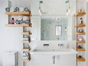 Bad Regale Ikea : wandregale f r badezimmer praktische moderne badeinrichtung ~ Lizthompson.info Haus und Dekorationen