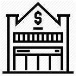Branch Icon Office Bank Finance Building Money
