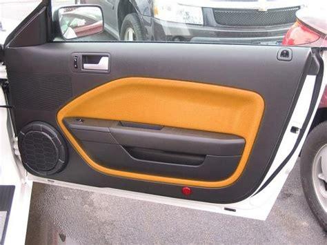 mustang door panel insert grabber orange door panel inserts the mustang source